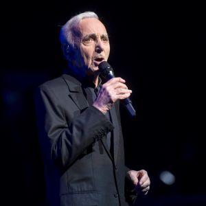 Charles Aznavour våren 2018.
