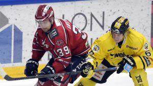 Arttu Luttinen, HIFK mot SaiPa, februari 2015.