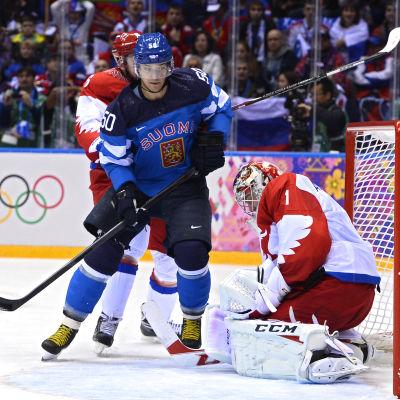 Juhamatti Aaltonen spelade i OS i Sotji 2014 men missar VM.