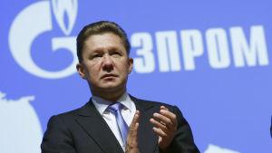 Alexei Miller, vd för Gazprom.