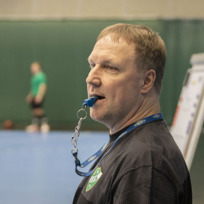 Mikael Källman i GrIFK.