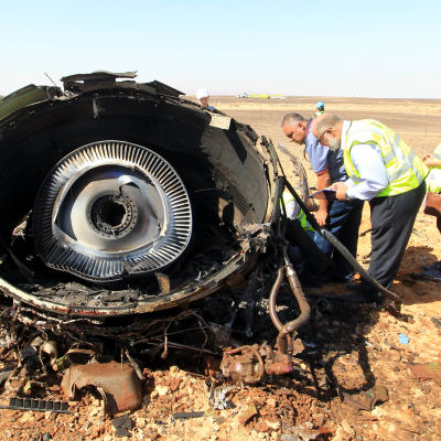 Flygplanet som kraschade i Sinai den 31 oktober 2015.