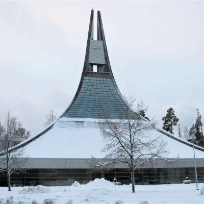 Lauritsalan kirkko.