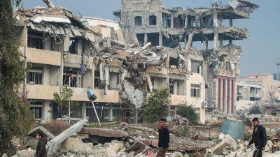 Bomb mot civila i mosul utreds av usa