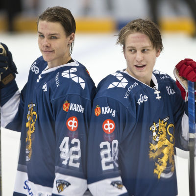 Miro Heiskanen och Eeli Tolvanen
