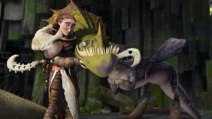 I How to train your dragon finns det massor med mysiga drakar, och alla (eller?) är snällare än Smaug.