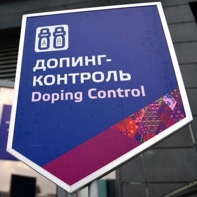 Dopningskontroll i Sotji.