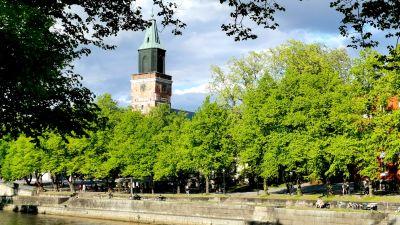 Åbo domkyrka, Aura å.
