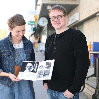 Linda Blomqvist och Christer Sjöholm.