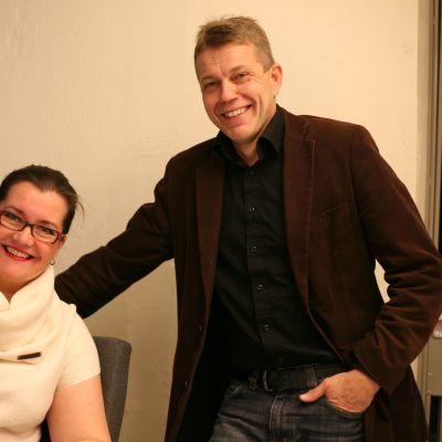 Annika Mylläri och Sören Lillkung.