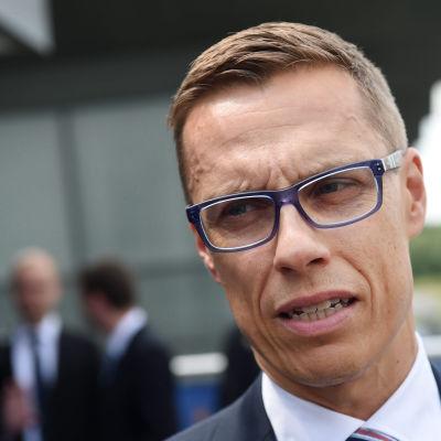 Samlingspartiets ordförande Alexander Stubb.