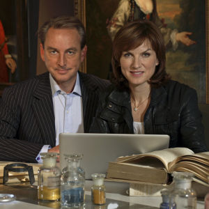 Philip Mould ja Fiona Bruce