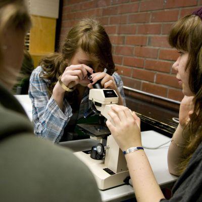 elever, studerande, biologi