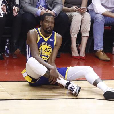 Kevin Durant i finalserien mot Toronto.