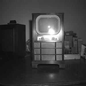 en gammal tv