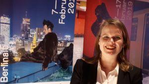 Selma Vilhunen under Berlinale filmfestival 2019.
