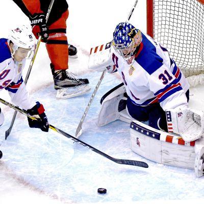 USA förlorade mot Slovakien i JVM.