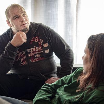 Petri Kerman ja Susanna Holmquist kertovat erityislasten tilannetta