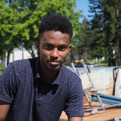 Omar Abdi, turvapaikanhakija