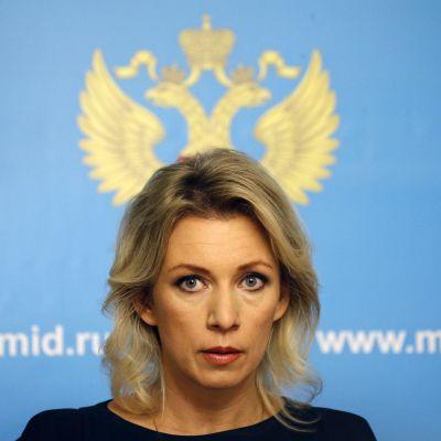 Maria Zaharova.