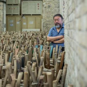 Ai Weiwei työhuoneella Berliinissä