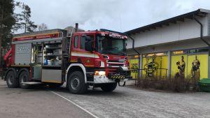 Lappeenrannan Kisapuiston jäähallissa syttyi tulipalo