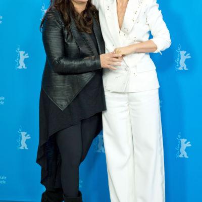 Isabel Coixet och Juliette Binoche på Berlinale 2015
