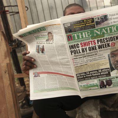 Miljoner nigerianer fick veta om det överraskande beslut då de öppnade sin morgontidning