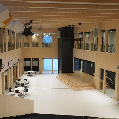 Lieksan uusi koulukeskus