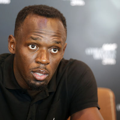Usain Bolt är en världsstjärna till sprinterlöpare.