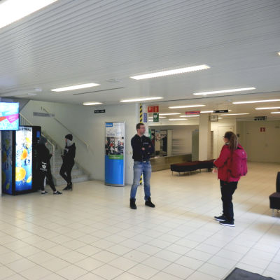 Övningen ägde rum i Kpedus campus i Karleby