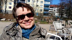 Bild på riksdagens ansvariga företagsläkare Anita Pienimäki