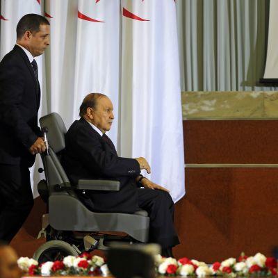 Algerian presidentti Abdelaziz Bouteflika