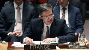 Francois Delattre, Frankrikes FN-Ambassadör