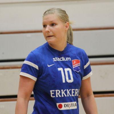 Betina Lillqvist i handbollslfinalerna 2016.