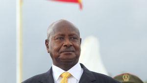 President Yoweri Museveni i oktober 2014