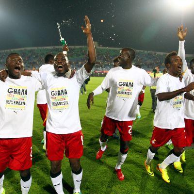 Ghana klart för fotbolls-VM