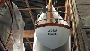Aura, träbåt,