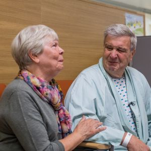 Helvi ja Tapio ovat olleet naimisissa jo 51 vuoden ajan.