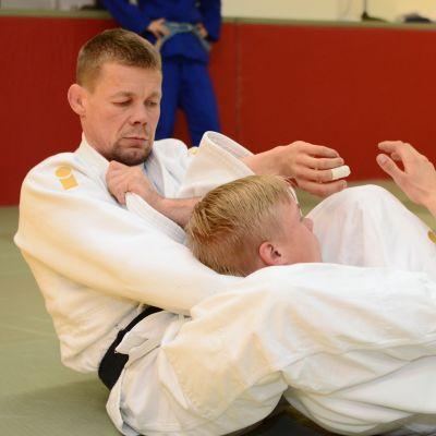 Judoka Jorma Korhonen