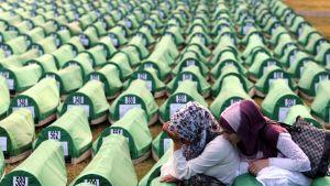 Offer för massakern i Srebrenica 1995