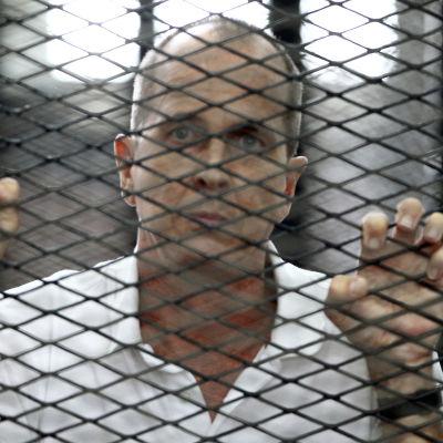 Fängslade al-Jazeera-journalisten Peter Greste