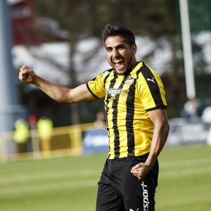 Borja Martin stod för ett snyggt mål då Honka slog RoPS i sin första match säsongen 2019.
