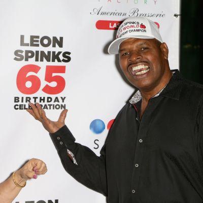 Nyrkkeilyn raskaansarjan ex-maailmanmestari Leon Spinks 65-vuotissyntymäpäivillään vuonna 2018.