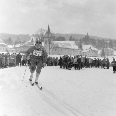 Eero Mäntyranta Zakopanen MM-kisoissa.