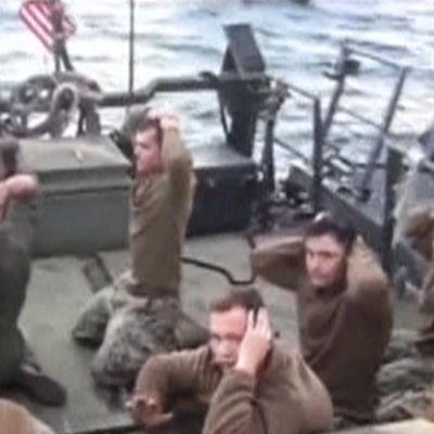 Iranin vangitsemia Yhdysvaltain merivoimien sotilaita.