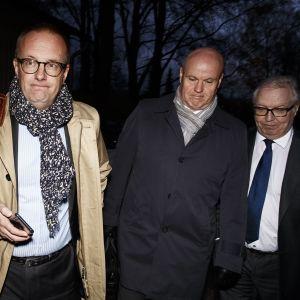 Jarkko Eloranta, Antti Palola och Sture Fjäder