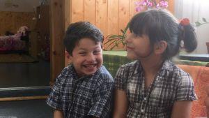 Leen och Besam från Syrien bor nu i Estland.