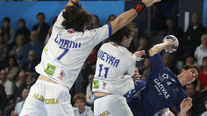 Ademar León mot Montpellier.