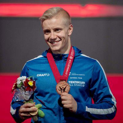 Emil Soravuo med bronsmedaljen.
